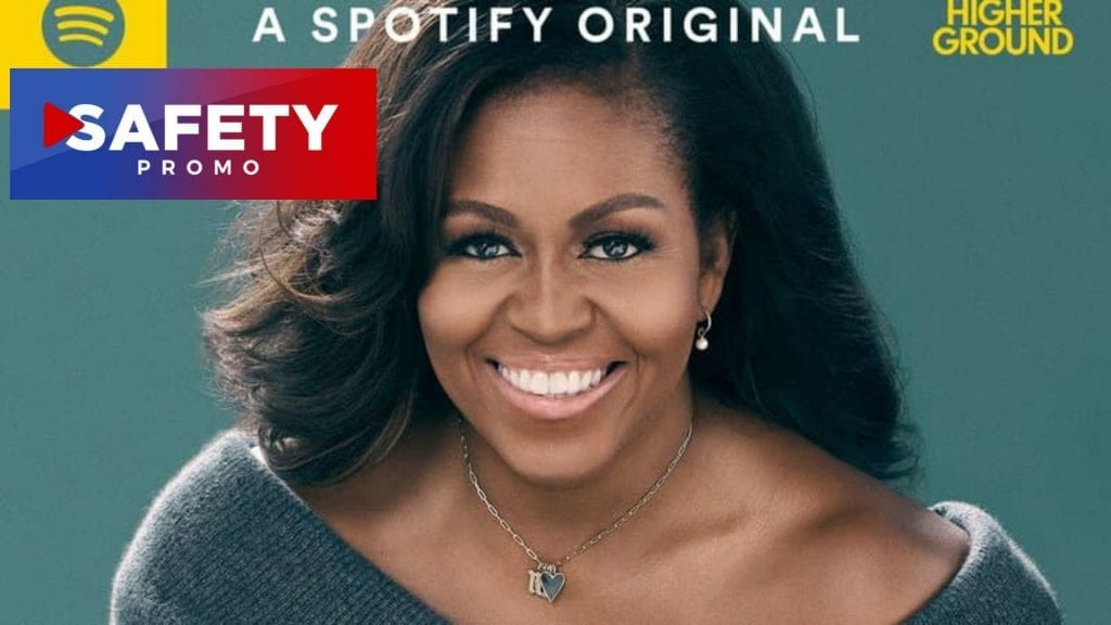 Michelle Obama va dévoiler son premier podcast le 29 juillet- SAFETY PROMO