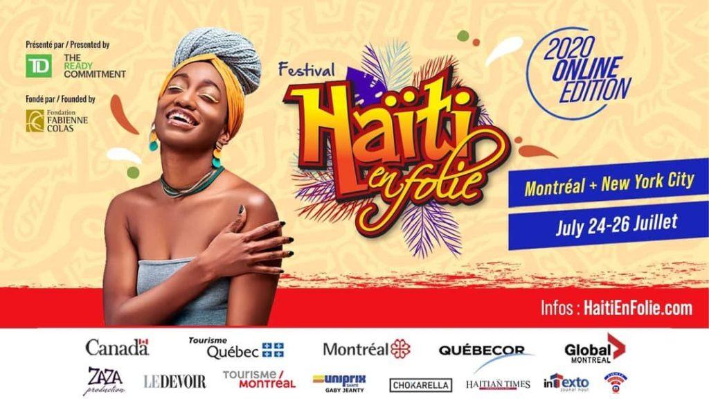 Les festival Haïti en folie débute ce 24 Juillet 2020