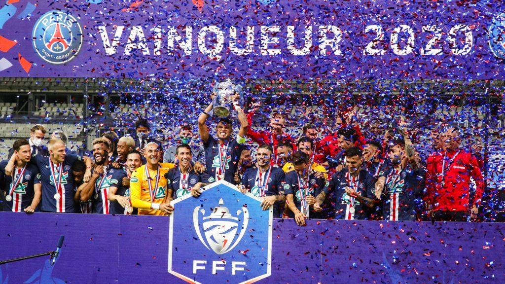 Football : Le Paris Saint Germain remporte la Coupe de France