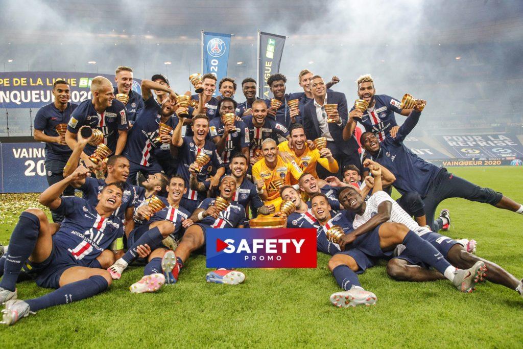 Finale de la Coupe de la Ligue : le PSG dompte l'OL et remporte la Coupe de la Ligue